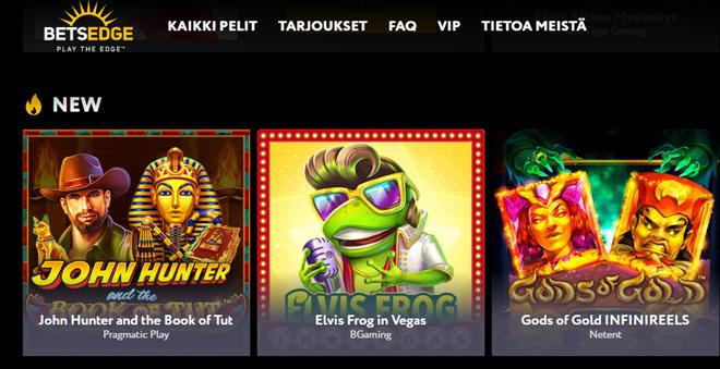 Betsegde casino aulan esittely