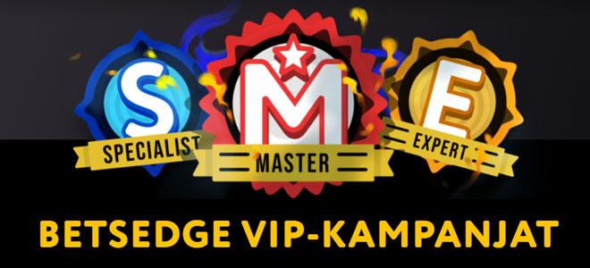 Betsedge VIP-kampanja on yksi tämän kasinnon tärkeimmistä ominaisuuksista