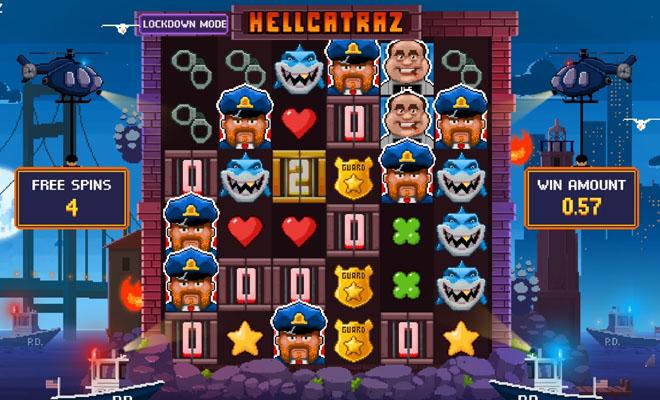 Hellcatraz pelin bonus
