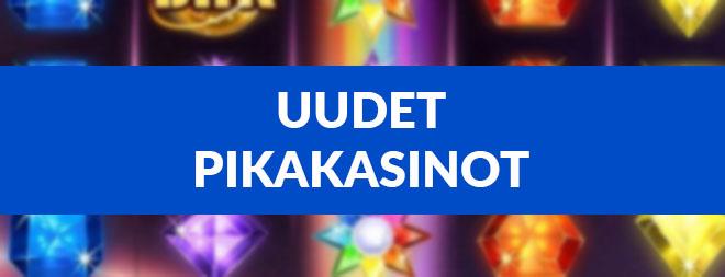 Uudet pikakasinot artikkelista löydät kaikki uusimmat pikakasinot suomalaisille