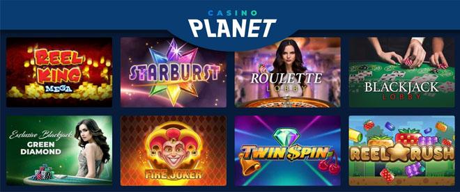 Esittelyssä Casino Planetin aula