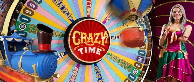 Crazy Time peli julkaistaan 10.5