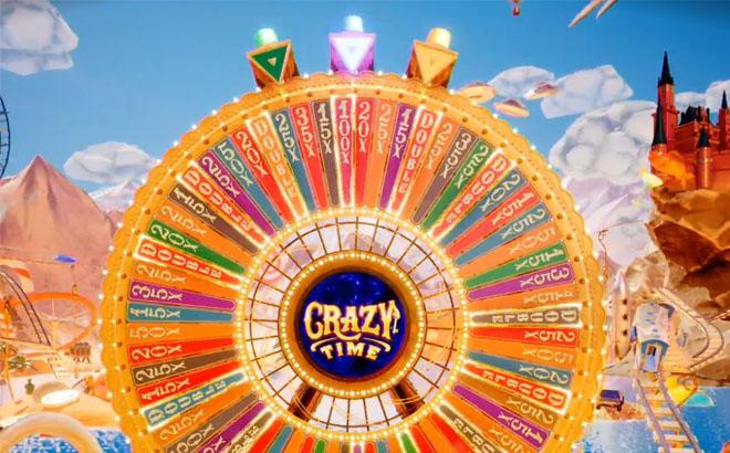 Crazy Time iso bonus pyörä