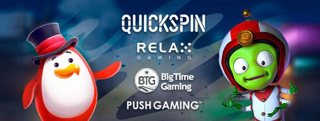 RedPing.Win julkaisi neljä uutta pelivalmistajaa