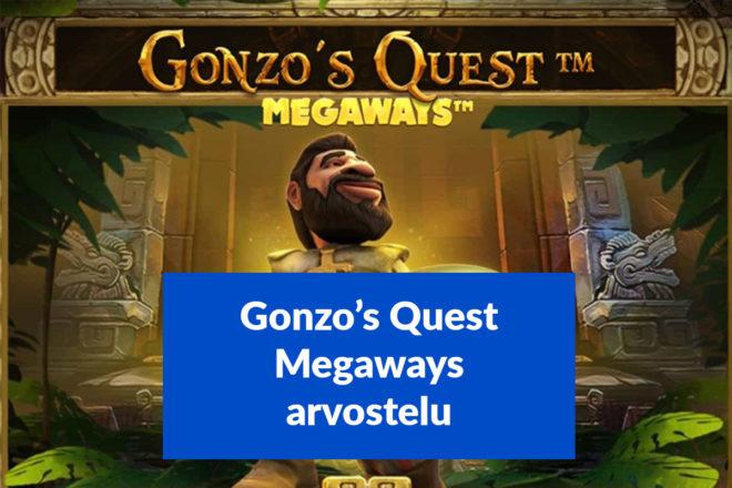 Gonzos Quest Megaways arvostelu