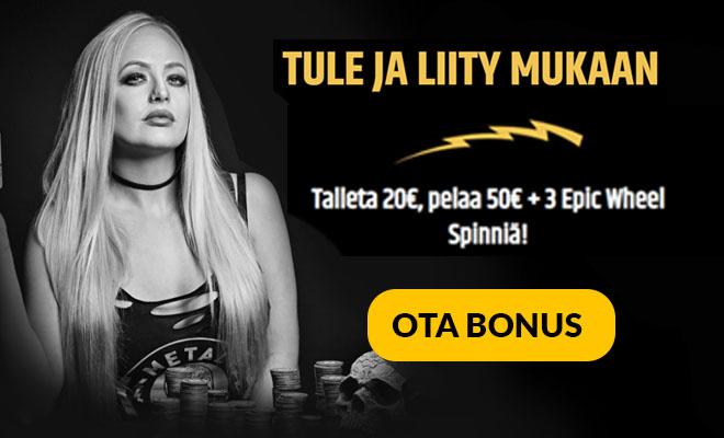 Metal Casinon päivitetty bonus