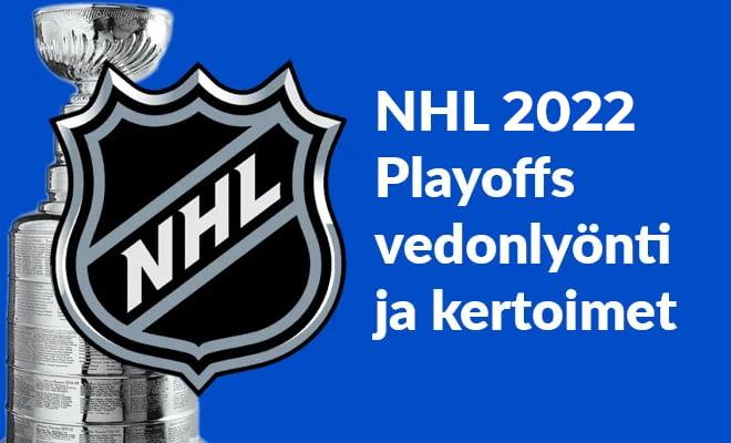 NHL Playoffs 2020 vedonlyönti ja kertoimet