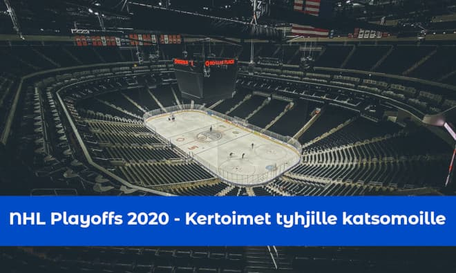 NHL Playoffs 2020 kertoimet