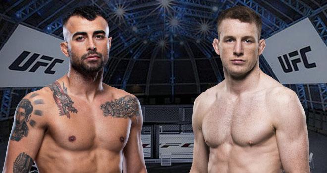 UFC Fight Island 2020 Amirkhani ja Henry