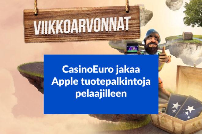 Osallistu CasinoEuro arvontoihin
