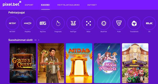 Esittelyssä Esports vedonlyöntiin erikoistunut kasino ilman rekisteröitymistä joka kulkee nimellä Pixelbet