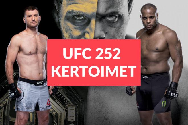 UFC 252 kertoimet ja ennakko