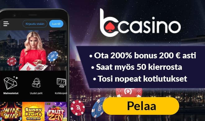 Uniikki Bcasino.com bonus