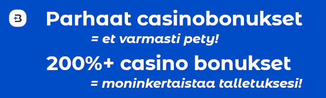 casino bonus mikä se on, paras casino bonus