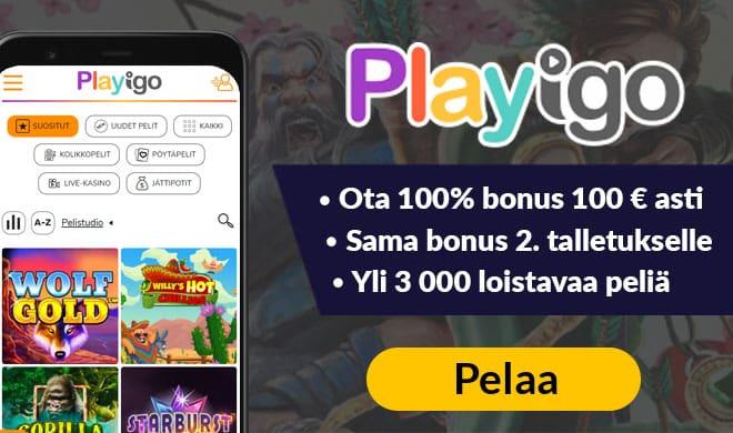 Playigo Casino kansikuva