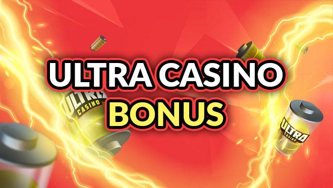 Ultra Casino päivittäinen bonus