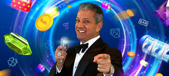 Bruce Buffer on Twin Casinon lähettiläs