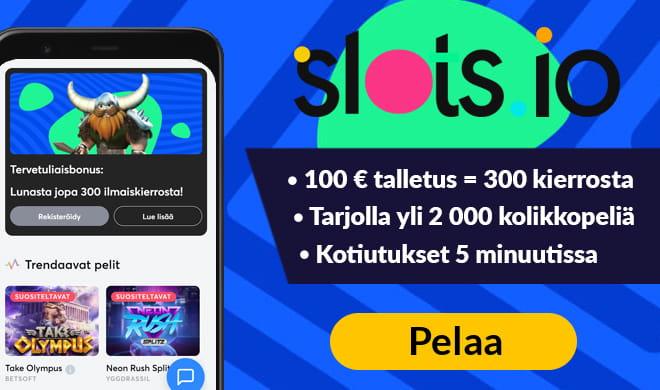 Lue Slots.io arvostelu ja kokemuksia ennen pelaamista