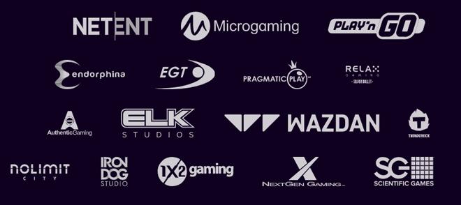 Dux Casino tarjoaa pelejä yli 40 tuottajalta