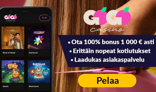 GoGo casinolla pelaat helposti ilman rekisteröitymistä.