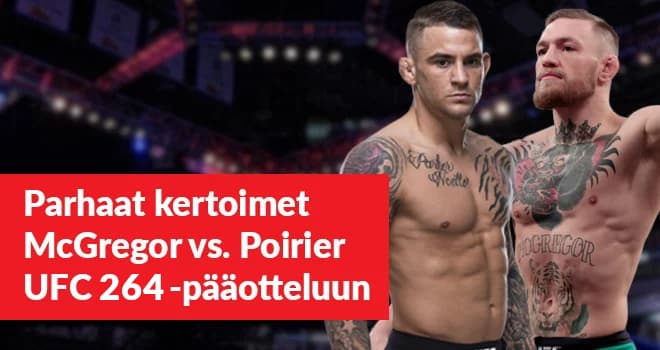 McGregor ja Poirier kohtaavat UFC 257 tapahtumassa