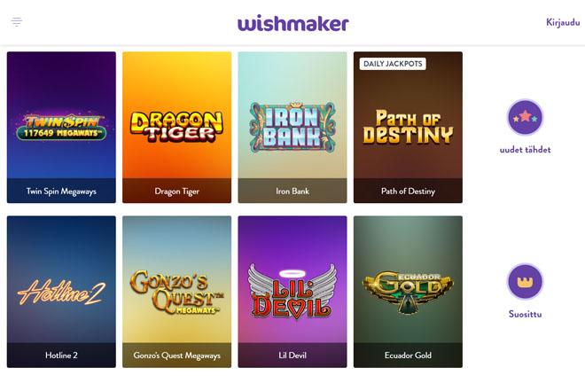Wishmaker kasinon aula