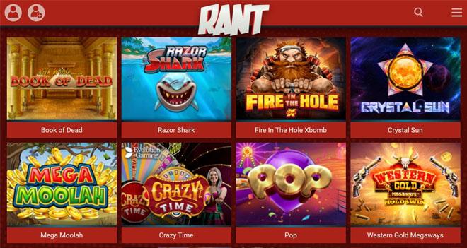 Esittelyssä Rant Casino