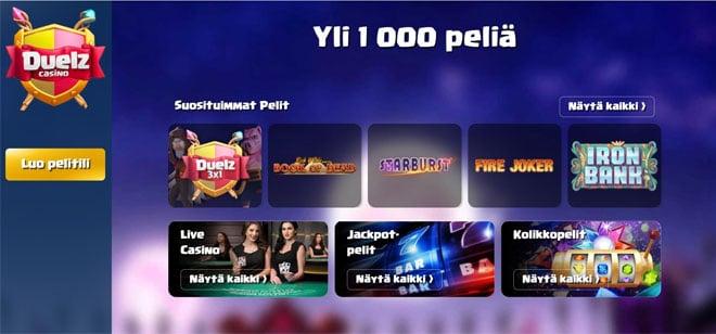 Duelz Casino esittely