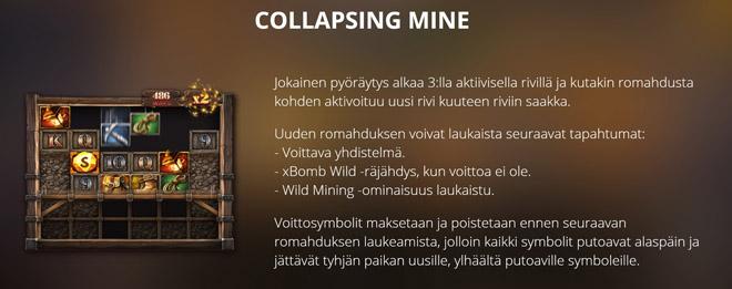 Collapsing Mine -bonus toiminto