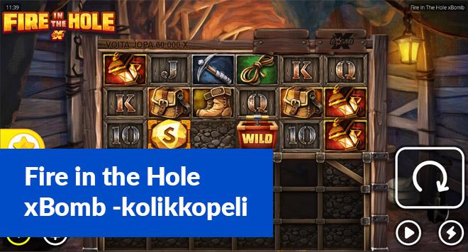 Fire in The Hole xBomb -kolikkopelin arvostelu sekä kokemuksia