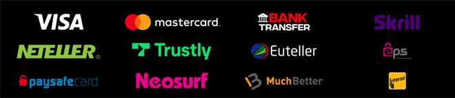 iBet tarjoaa kattavan määrän maksutapoja