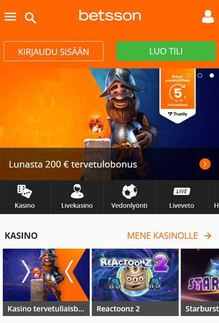 Pelaaminen onnistuu mobiilissa ilman aplikaatiota