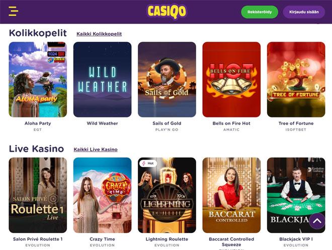 Esittelyssä Casiqo Casino