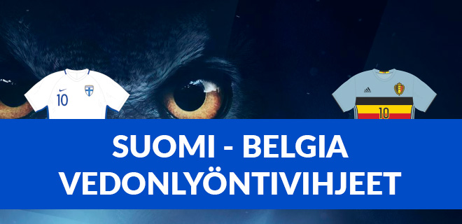Suomi vs. Belgia vedonlyöntivihjeet em 2021