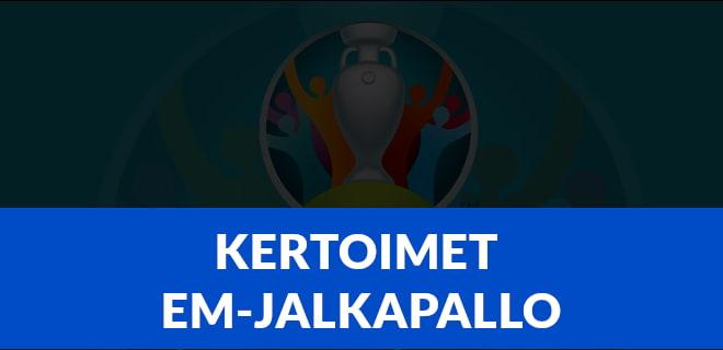 Kertoimet EM-jalkapallo 2021
