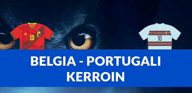 Paras Belgia - Portugali kerroin