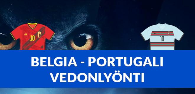 Belgia - Portugali vedonlyönti ja bonukset