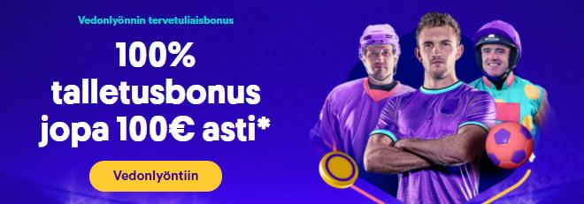 Casumo Vedonlyönti Bonus