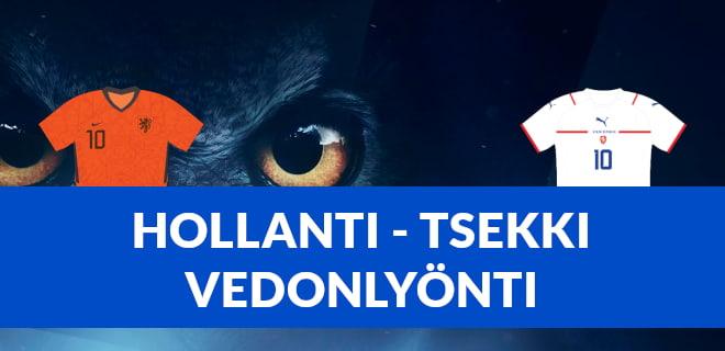Vedonlyönti Hollanti - Tsekki otteluun, katso myös bonukset