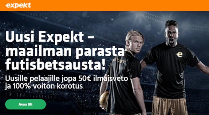 expekt voitonkorotus kaikkiin suomi belgia ottelun kohteisiin
