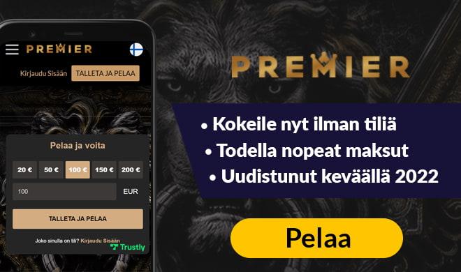Premier Casino kansikuva