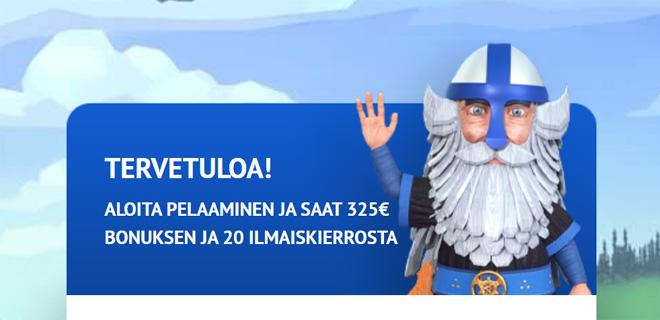 Kalevala kasinon bonus