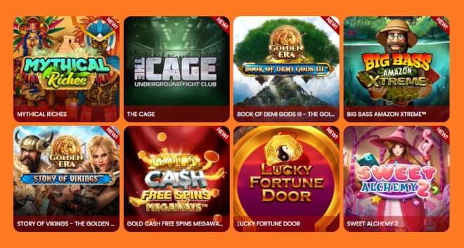 Esittelyssä Amok Casino
